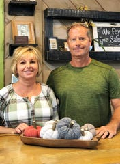 Lisa and Marty Norton own L&M Landscape Materials & Gift Shop and have been married for almost 28 years.