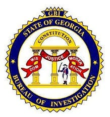 Georgia Bureau of INvestigation logo.