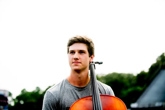 Bearden senior linebacker and orchestra member Mac Chandler plays multiple instruments, including cello, piano, guitar and mandolin.
