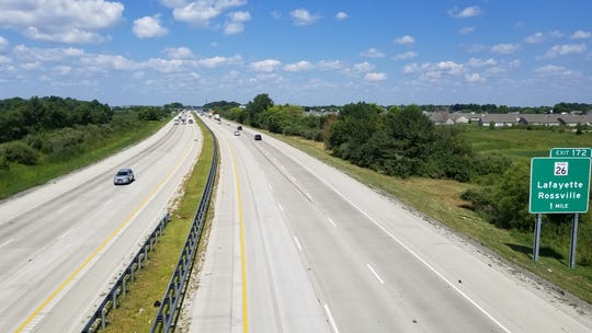 Lafayette is exploring adding an interchange off of Interstate 65 on McCarty Lane.