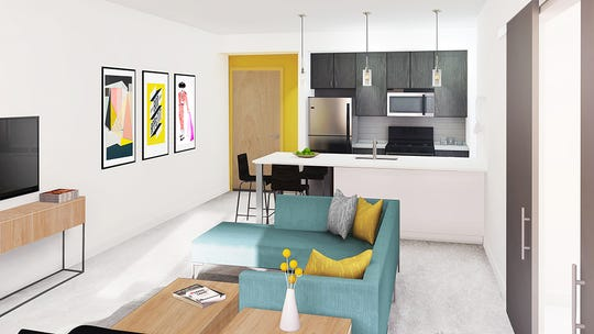 MARQ, a 99-unit apartment in Downtown Lafayette, is open for lease