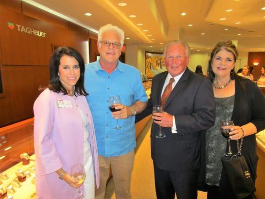 Judy Mahtook, Tom Giosa, Kyle and Monique Gideon