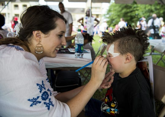 Kids will love face painting, games, and canoeing the beautiful Sugar Mill Pond.