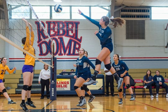 The high school volleyball state playoffs brackets were announced Monday by the LHSAA.