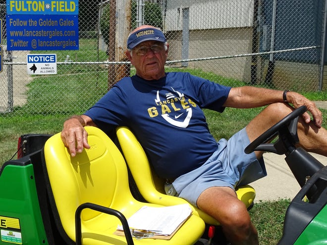 The Lancaster football team will honor long-time equipment manager Bill Sampson, who passed away in February at the age of 86.
