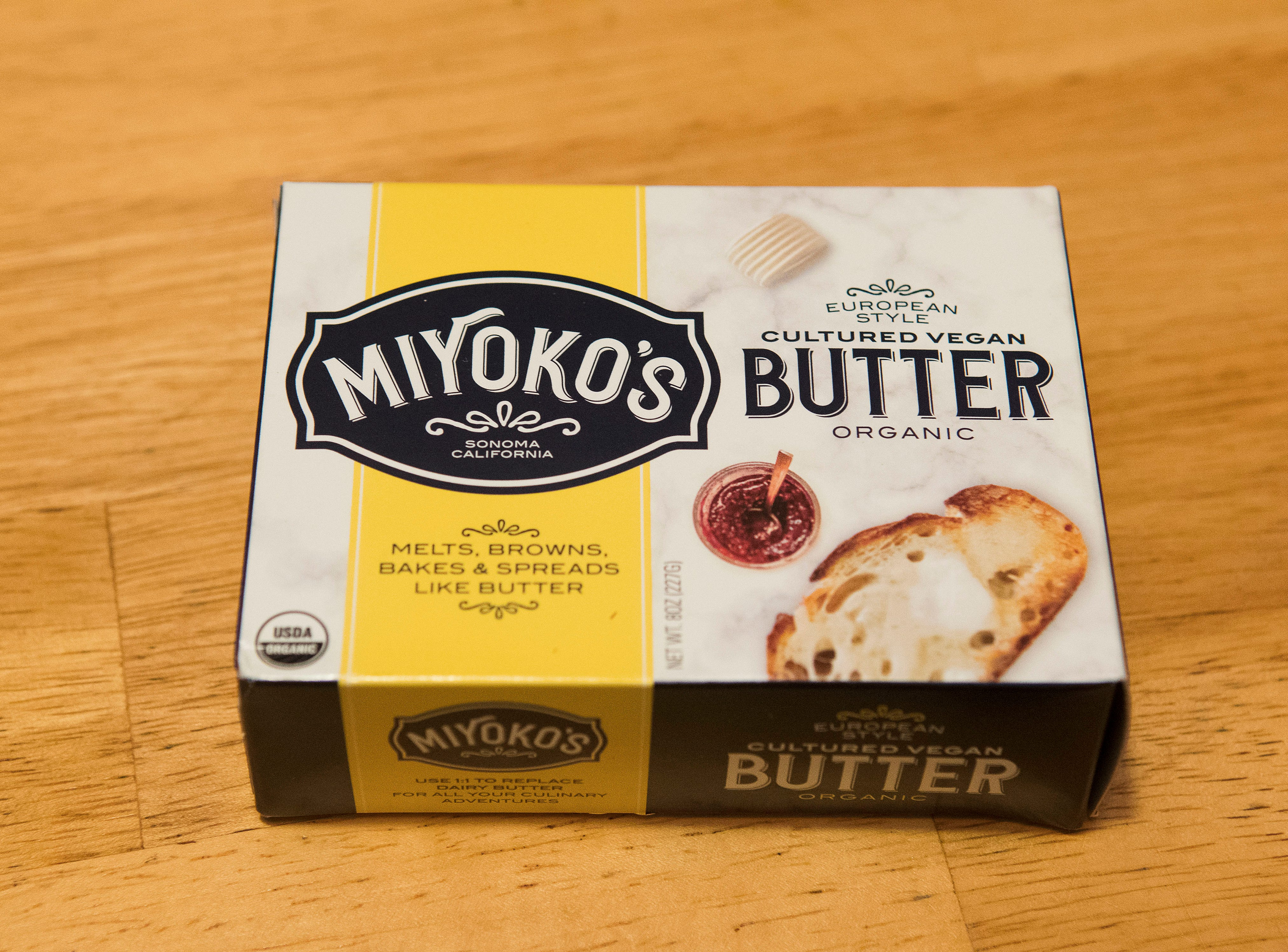 Vegan European style butter found at Whole Food's in Louisville.
