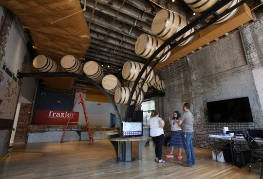 The Frazier History Museum is the official starting point for the Kentucky Bourbon Trail.