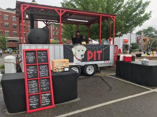 Clyde's Pit Food Truck, from Elsie, is just one of the many food trucks that will be at the Food Truck Mash-Up, Saturday, Aug. 25 at Cooley Law School Stadium.