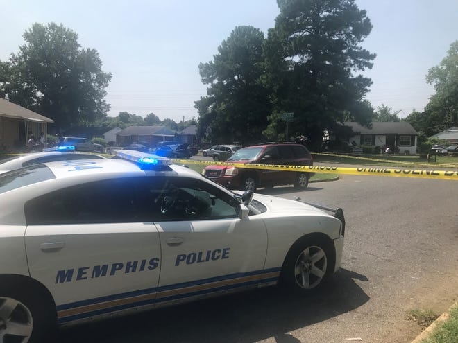 Memphis police are responding to a shooting during an armed robbery call on Armistead Avenue. Police later confirmed that the incident was not an armed robbery, and that suspect Darrell Thurman provided false information.