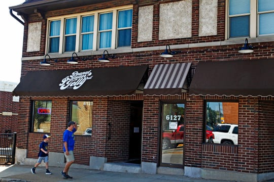 Customers head to the Peanut Butter & Jelly Deli at 61st and Greenfield in West Allis.