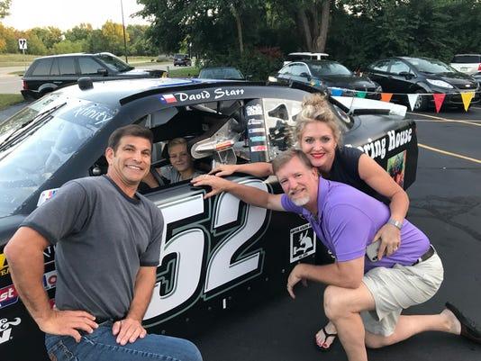 NASCAR visits Silver Spring House