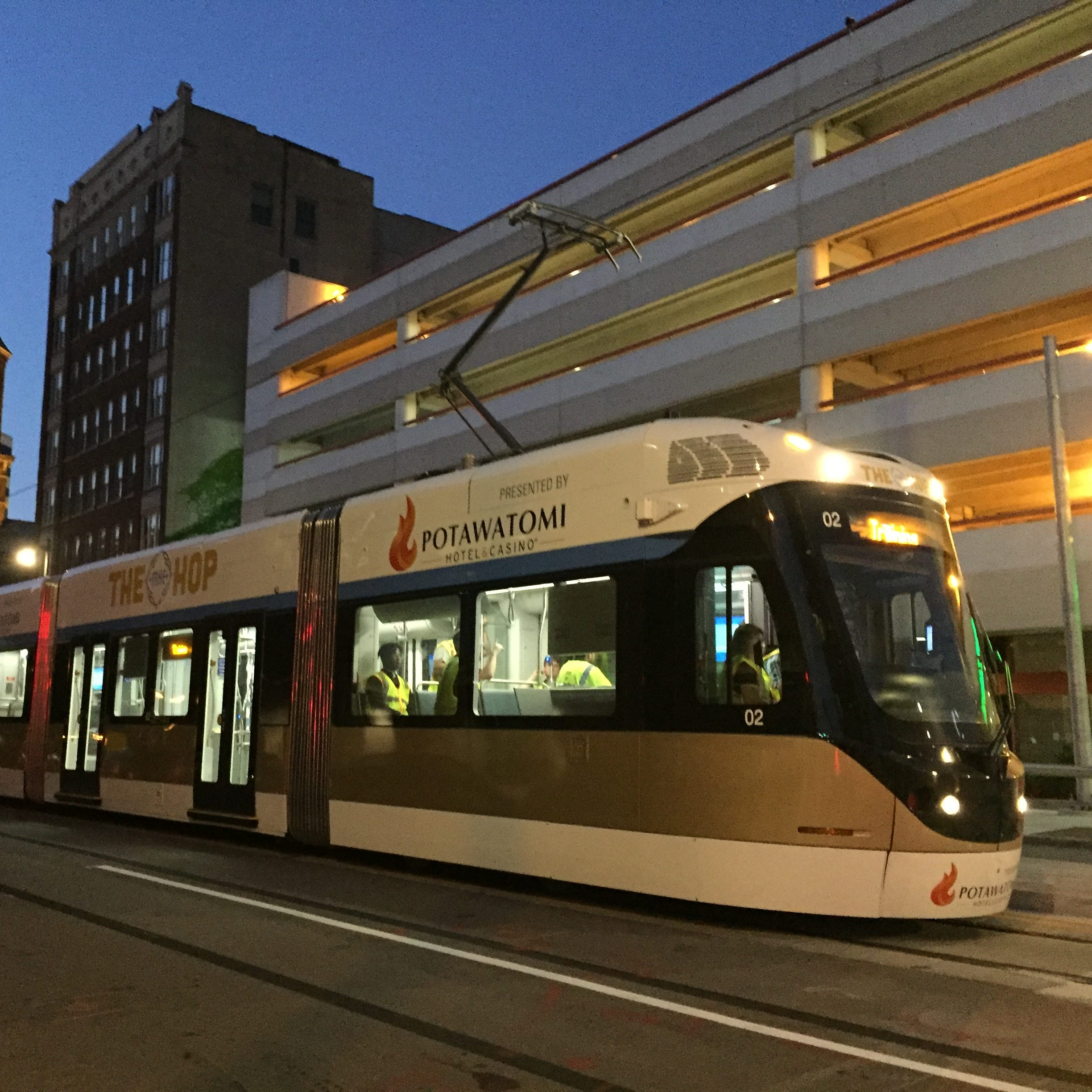 It's back to the future for streetcars as The Hop starts gliding down Milwaukee's streets