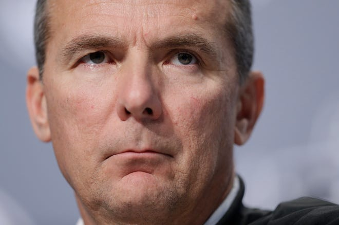 Ohio State coach Urban Meyer has been suspended three games after a two-week internal investigation concluded he didn't handle  the allegations of domestic abuse involving a former assistant properly.