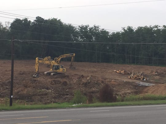 Road expansion work associated with a new Wilson County high school approved is underway.