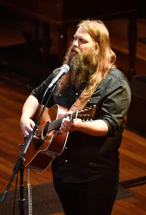 Chris Stapleton performs at The 12th Annual ACM Honors