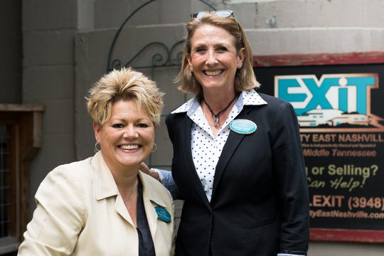 Connie Williams and Sheila Tidwell, owners of EXIT Realty East Nashville.