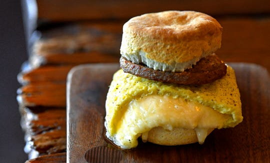 The No. 1 biscuit is at Barista Parlor.