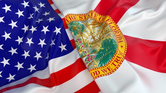 #istock florida flags election