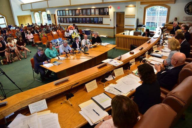 The Assembly Environment and Solid Waste Committee and the Senate Environment and Energy Committee met on Thursday, August 23, 2018 in Toms River NJ., to hear testimony from invited guests and the public on the issues of single-use plastics and plastic waste.