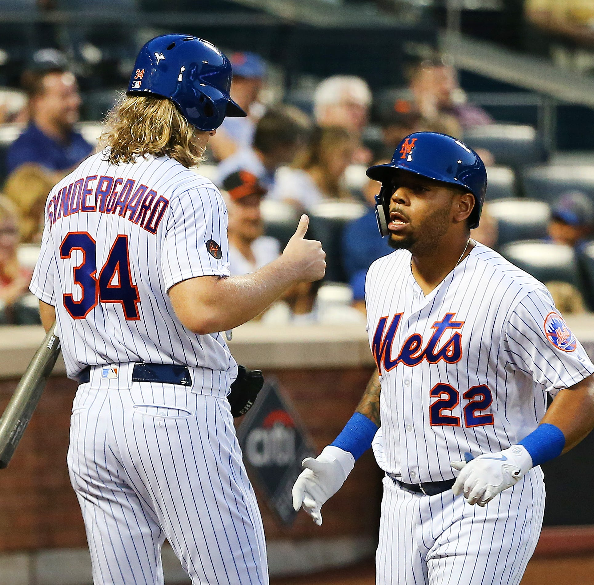 Mets, Phillies lineups as Dominic Smith draws start in LF