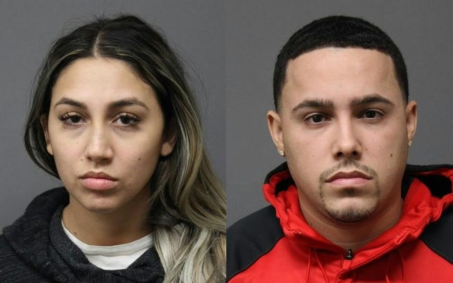 Glorianne Oyola-Betancourt, at left, and Jean Pierre Rivera-Marrero, both of Fort Lee.