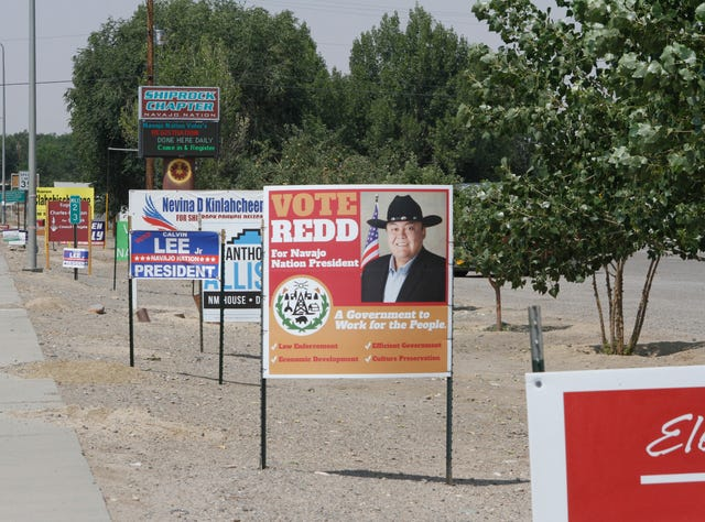 Navajo Nation voters to cast ballots in primary election Tuesday