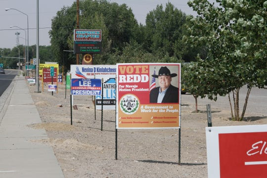 Navajo Nation voters will go to the polls Tuesday to select candidates for a number of offices in the tribe's primary election.