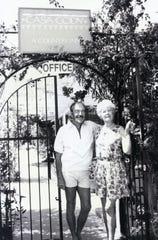 Jack and Dottie Brown, guests at Casa Cody c.1950