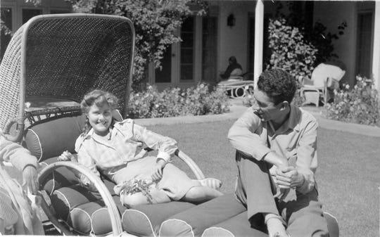 Guests at Casa Cody c.1940