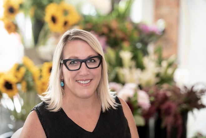 Florist Shannon Pallin is the owner of FIORE on Main Street in Pensacola.