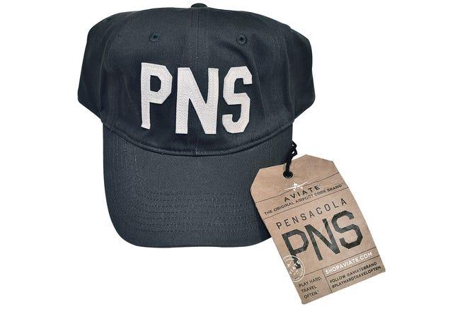 PNS (original airport code brand) hat, $42, Ciao Bella Boutique and Salon.