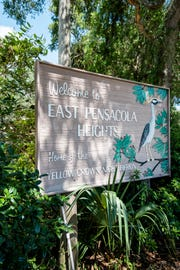East Pensacola Heights sign.