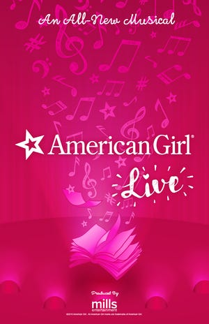 """""""American Girl Live"""" will come to the Pensacola Saenger Theatre in Pensacola on March 20."""