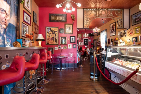 Dolce & Gelato Resturant is in a cool neighborhood with something for everyone on Zaragoza Street.