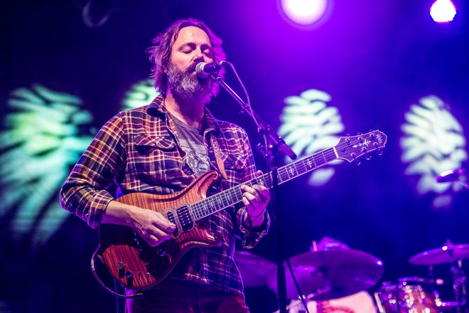 Neal Casal of Chris Robinson Brotherhood performs during the BottleRock Napa Valley Music Festival at Napa Valley Expo on May 31, 2015, in Napa, Calif. (Photo by Amy Harris/Invision/AP)