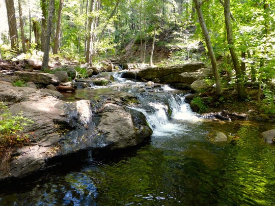 Horton Creek tumbles through Rim Country forests east of Payson.