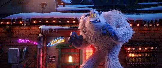 "Migo the yeti voiced by Channing Tatum in the new animated adventure ""Smallfoot,"" from Warner Bros. Pictures and Warner Animation Group (Sept. 28)."