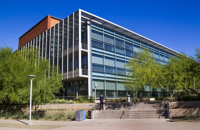 On July 31, 2017, two monkeys tussled in a lab at Arizona State's Biodesign B building on the Tempe campus.