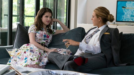 "(Left to Right) Anna Kendrick and Blake Lively in ""A Simple Favor"" (Sept. 14)."