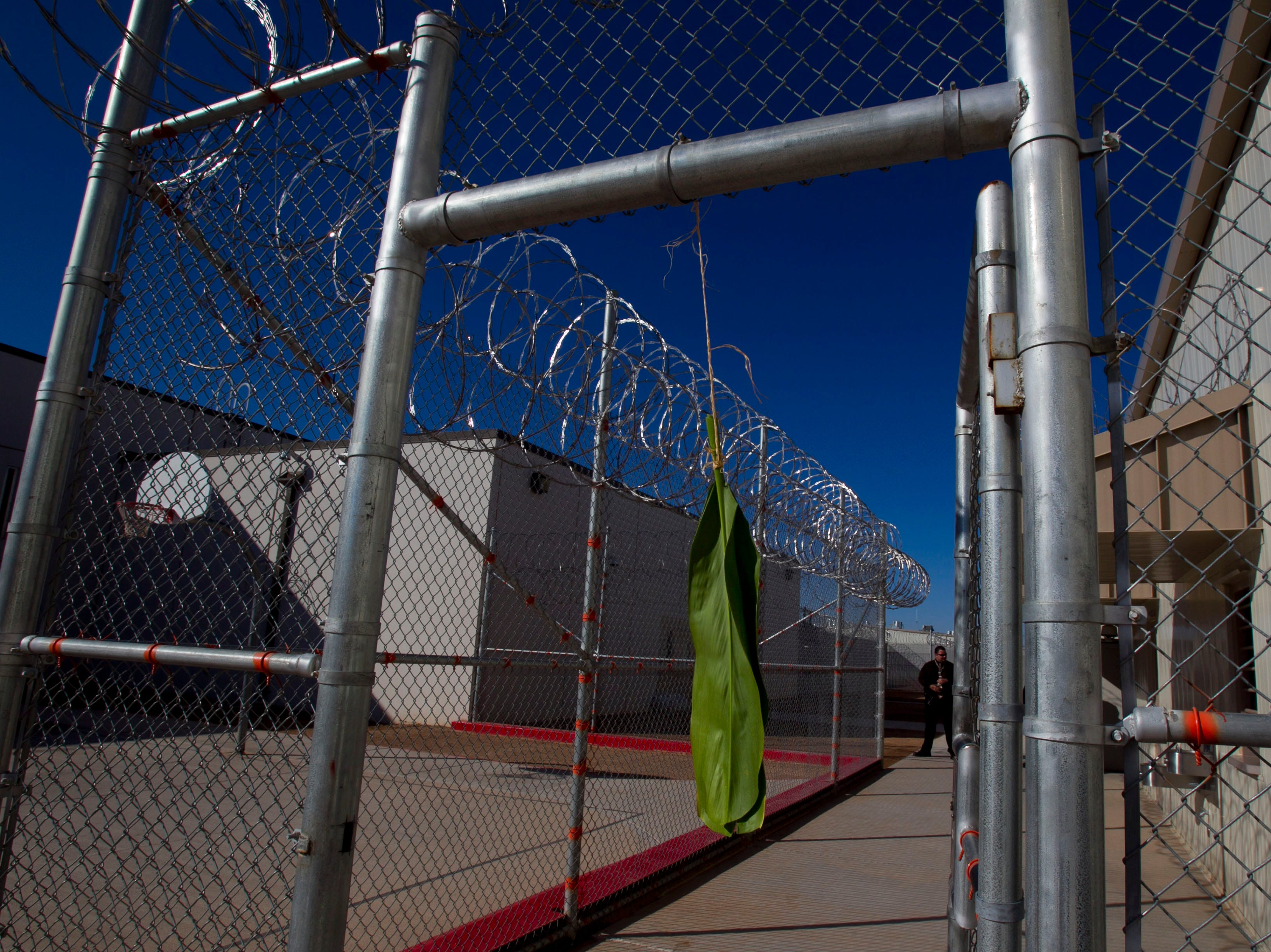 Saguaro Correctional Center in Eloy, which houses inmates from Hawaii serving lengthy sentences, brought in a spiritual adviser to lead up to 100 inmates in rituals and prayers in October 2011.