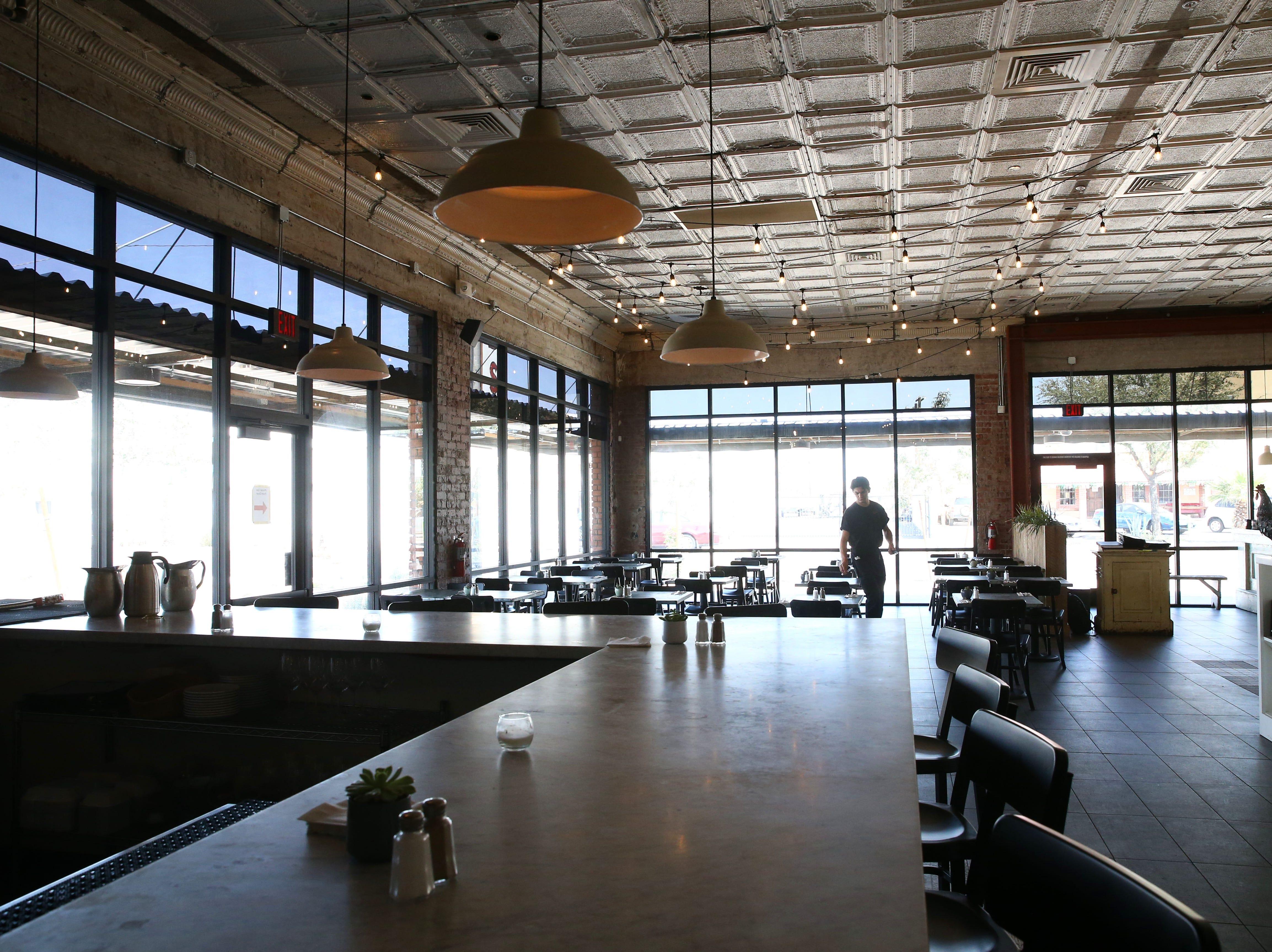Roland's Cafe Market Bar on Aug. 20, 2018, in Phoenix, Ariz.