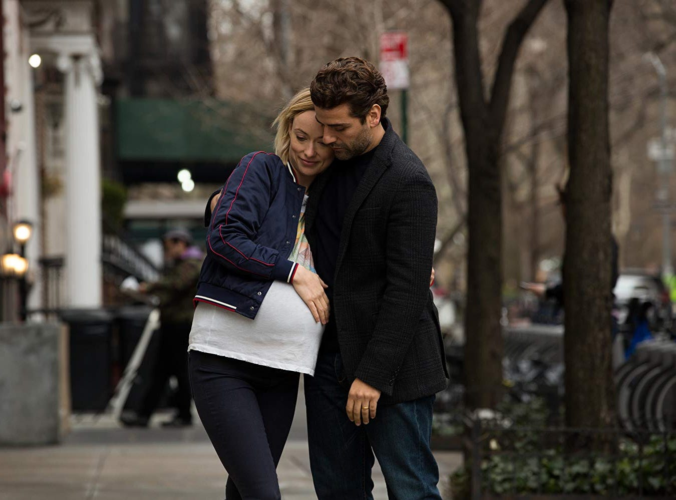 "Oscar Isaac and Olivia Wilde in ""Life Itself"" (Sept. 21)."
