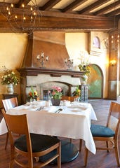 Vivace Restaurant in Tucson's decor is warm and rustic.