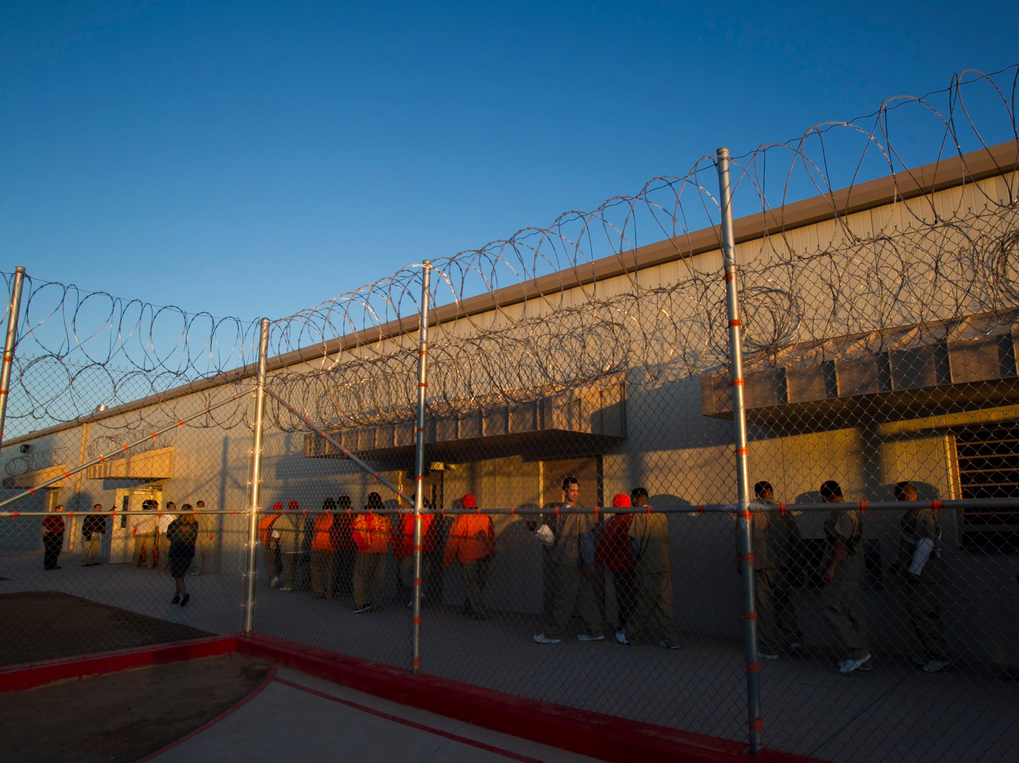 Saguaro Correctional Center in Eloy, which houses inmates from Hawaii serving lengthy sentences, brought in a spiritual adviser to lead up to 100 inmates in a series of rituals and prayers for the beginning of the Makahiki season of harvest in 2011.