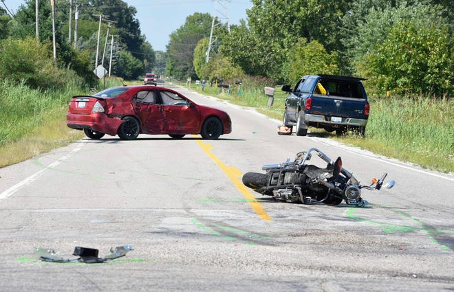 A Clyde Township man died following the crash.