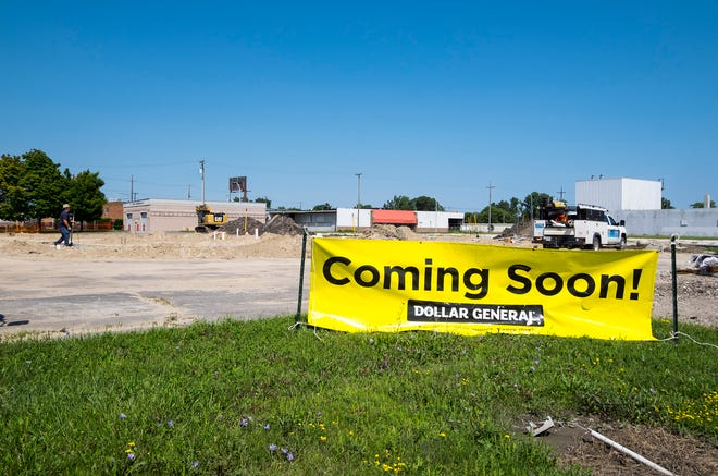 Construction has begun on the new Dollar General store at 3599 Military St. in Port Huron. The store is expected to open in early 2019.