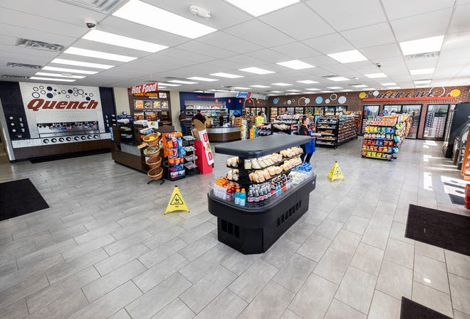 About 1,500 square feet of space was added to the SpeedyQ at 2797 Wadhams Road during recent renovations. Through Aug. 31, the store is offering different deals throughout the day.