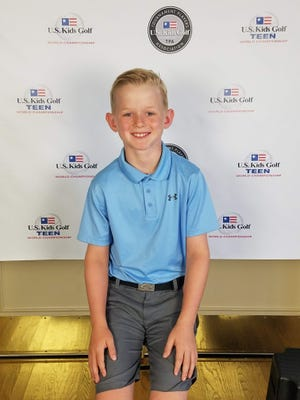 Dylan Kotes, 10 of Hopewell Junction, reached the U.S. Kids Golf Foundation World Championship earlier this month.
