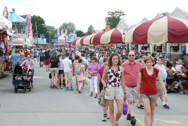 Scenes from the 2018 Dutchess County Fair.