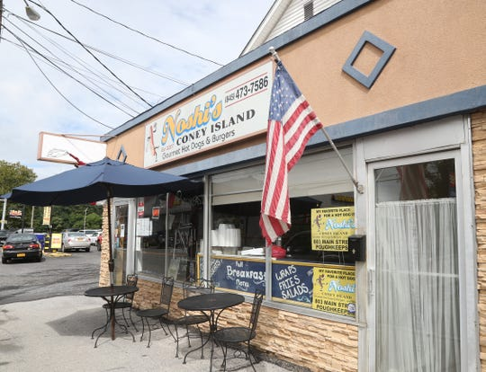 Noshi's Coney Island Hot Dogs on Main Street in the City of Poughkeepsie on August 22, 2018.